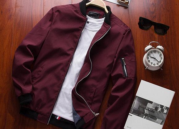 DIMUSI  Men's Bomber Jacket Male Casual Streetwear