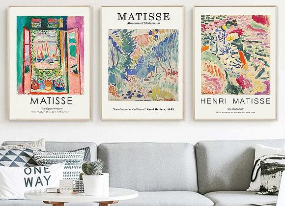 Henri Matisse Retro Posters and Prints