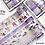 Thumbnail: 12Pcs/Set Green Plant Washi Tape Solid Color Masking Tape