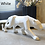 Thumbnail: New 2020 Leopard Statue Figurine Modern Abstract Geometric Style Resin Panther