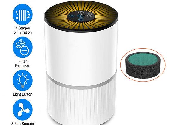 Portable HEPA Filter Air Purifier