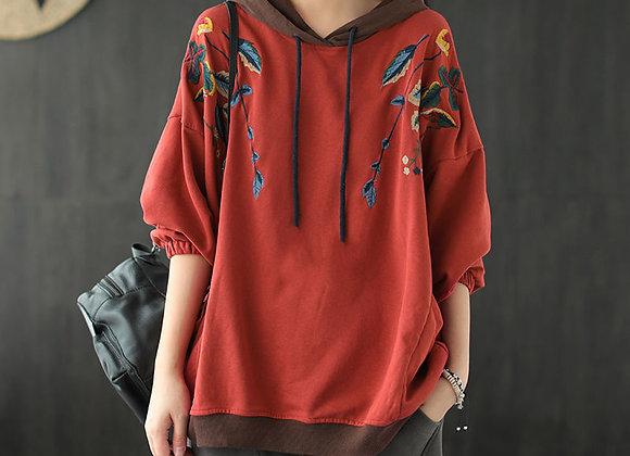 Women's Vintage Sweatshirt Hoodie