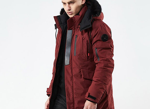 New Winter Casual Long Style Hooded  Cotton Padded Jackets