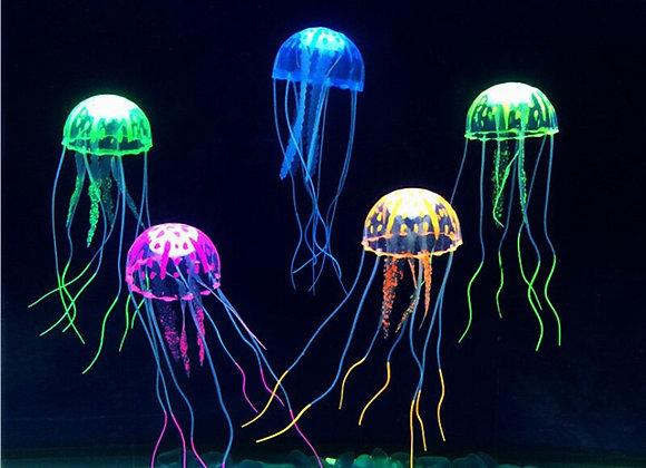 Artificial Aquarium Jellyfish Ornament
