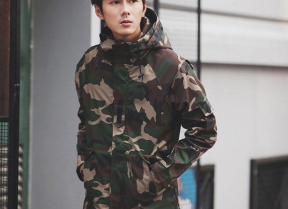 Windbreaker Camouflage Jackets Streetwear