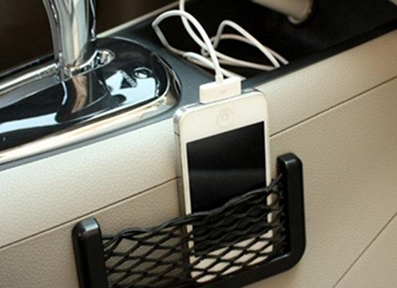 1Pcs Car Organizer Storage Bag Auto Paste Net Pocket