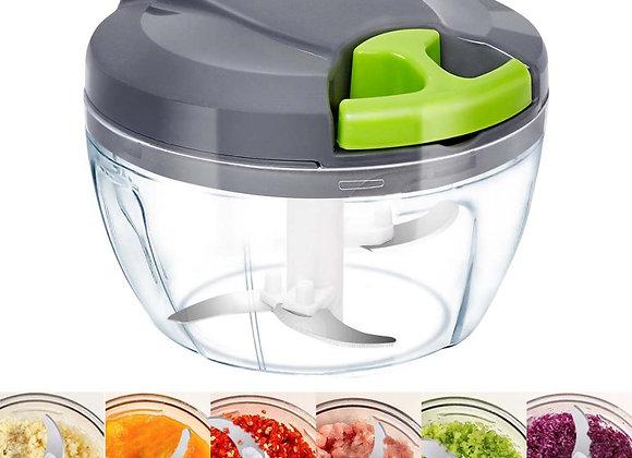 Manual Food Chopper Food Processor Vegetable Fruits Meat Cutter
