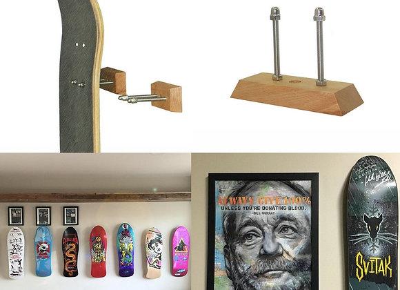 Hanger Skateboard Deck | Longboard Deck Floating Display Wall Mount