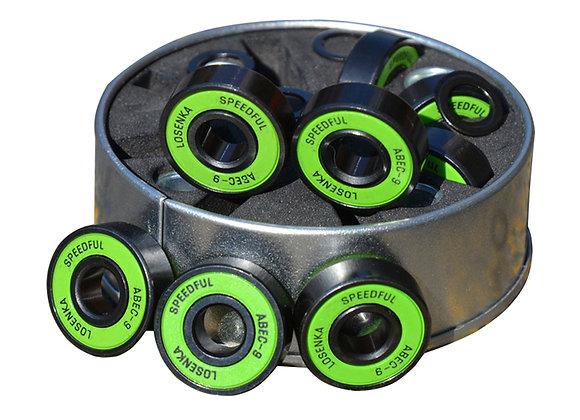 1 Box ABEC-9Bearings Premium Steel Bearings for Skateboard/Scooter