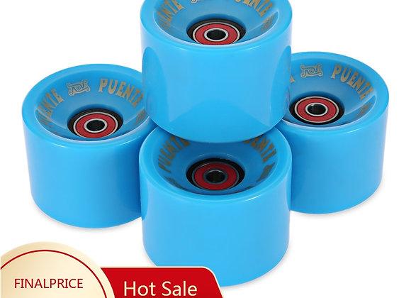4 Pieces 70 X 51MM Longboard Wheel Skate Roller