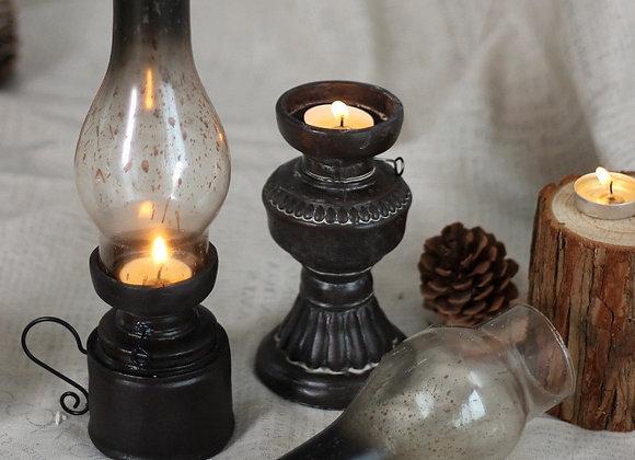 Retro Style Candle Holders Creative Resin Kerosene Lamp