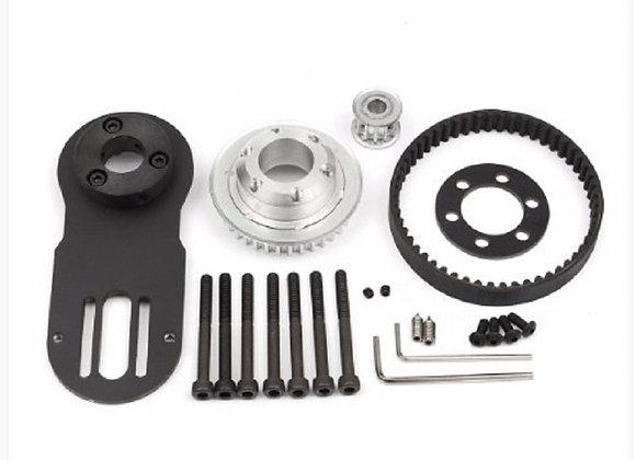 83mm 90mm 97mm Electrical Skateboard 1800W Motor 5M Gear 270mm Belts Kit & Motor