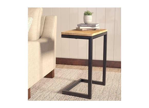 Decorative Metal Wood Side Table C Type Free Shipping From Turkey