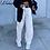 Thumbnail: Weekeep Fashion Pocket White Women's Jeans Streetwear