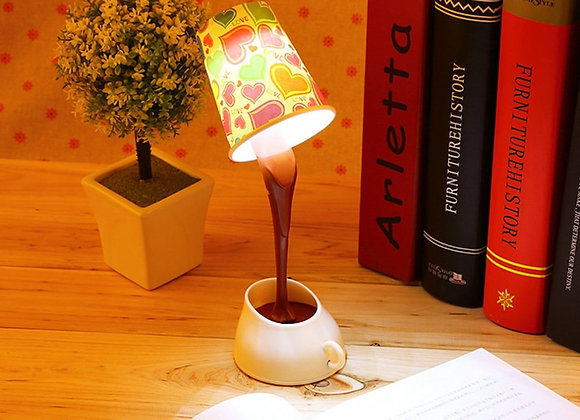 Creative DIY Coffee Cup LED Down Night Lamp