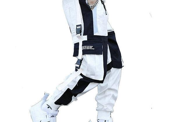 Streetwear Men's Multi Pockets Cargo Harem Pants