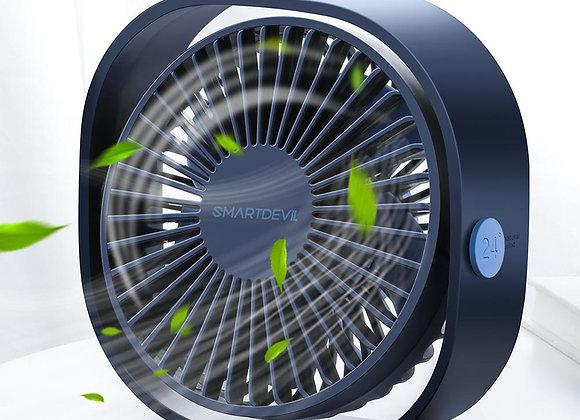 SMARTDEVIL Portable Cooling USB Desktop Fan 3 Speed