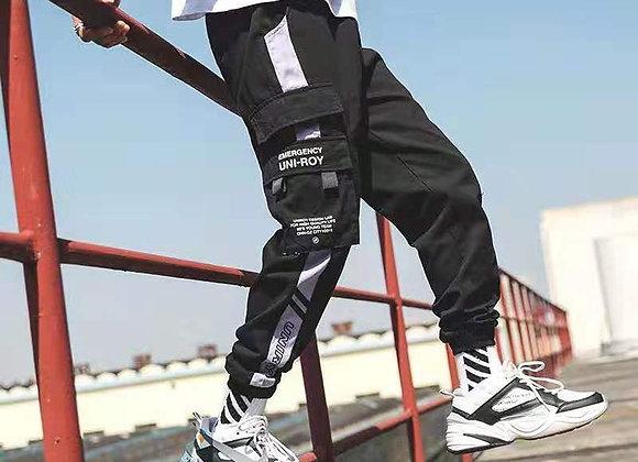 Men Multi-Pocket Trousers Streetwear