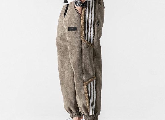 Winter Korean Style Hip Hop Thick Casual Harem Pants