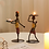 Thumbnail: Nordic Metal Candlestick Abstract Character Sculpture Candle  Holder