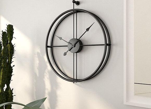 Nordic Large Wall Clock Modern Design Gold Wall Clock