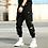 Thumbnail: Streetwear Hip Hop Black Harem Pants
