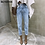 Thumbnail: BGTEEVER Vintage High Waist Straight Jeans
