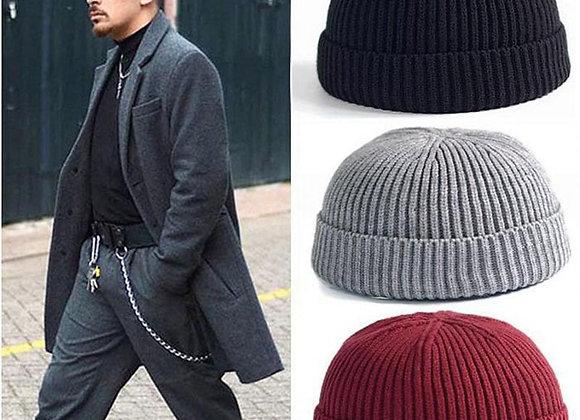 Unisex Winter Warm Men's Knitted Skullcap Casual