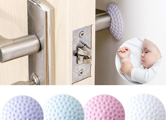 Gadgets Accessories Mute Door Lock Wall Protective Pad Home Fenders Protection