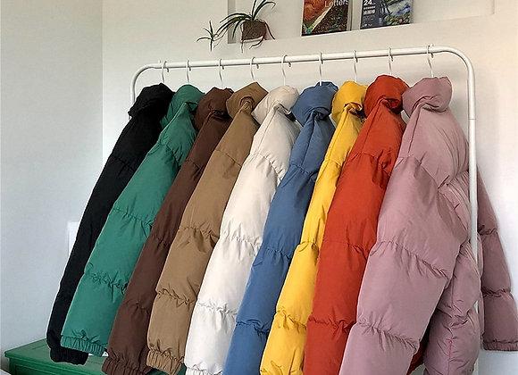 LAPPSTER Harajuku Colourful Bubble Coat Winter Jacket