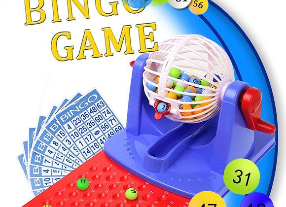 Toy Lottery Machine Bingo Game Set
