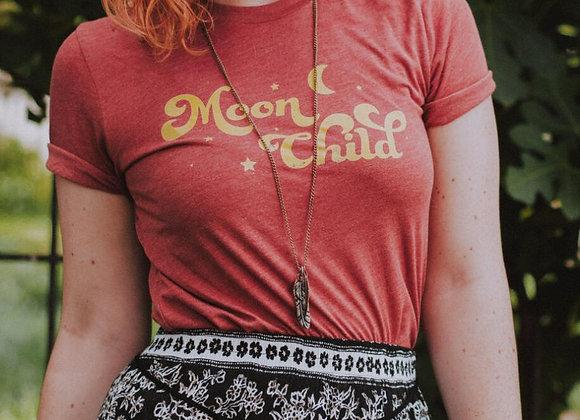 Moon Child Retro Style Tshirt