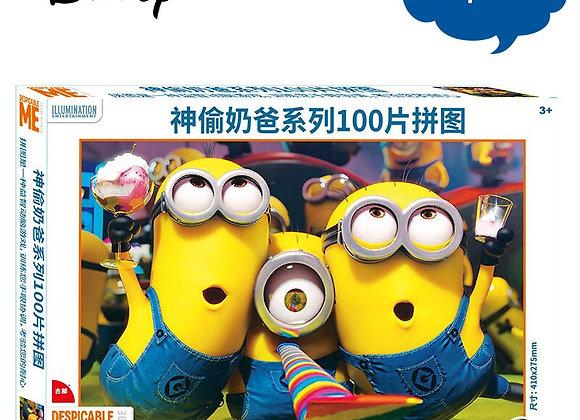 Disney Cartoon Animation Puzzles 100/200/300 Pieces  Puzzles