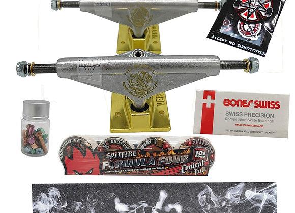Venture Skateboard Trucks Spitfire Skateboard Wheels