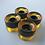 Thumbnail: 4pcs/Set Cruiser Skateboard Wheels 60X45 Mm Longboard Wheel Fit 22 Inch