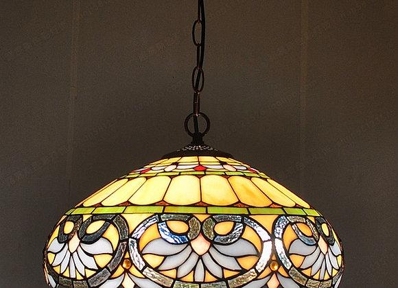 45CM European Tiffany Chandelier Living Room