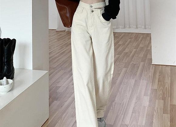Woman Jeans High Waist Clothes