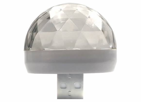 Car Auto Lamp USB Light DJ RGB Mini