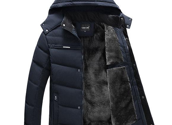 Parka Men Coats Winter Jacket Men Thicken Hooded Waterproof