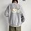 Thumbnail: LAPPSTER Men Fleece Oversized Fish Print Hoodies