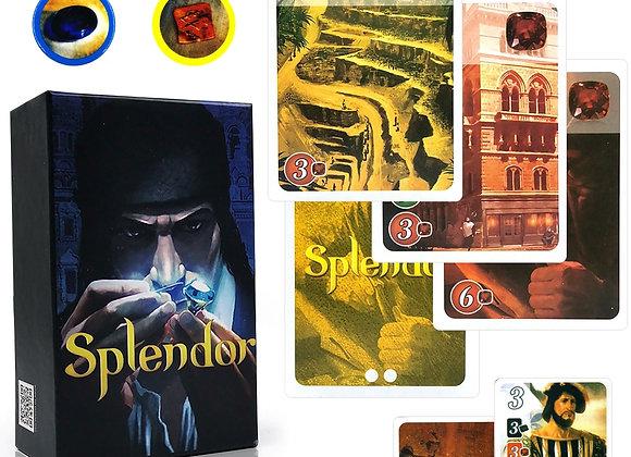 English & Spanish Splendor Board Game