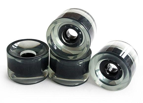 4pcs 82A 70X51mm Longboard Wheels PU Material