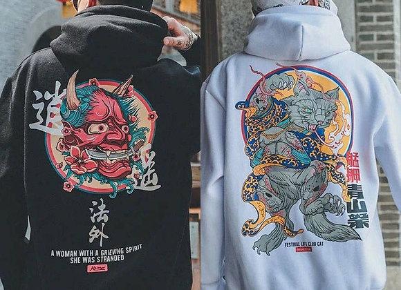 Hoodies Casual Sweatshirts Streetwear Men Women