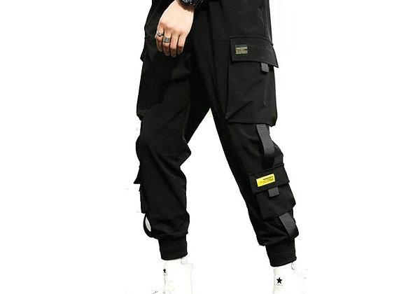Streetwear Hip Hop Black Harem Pants