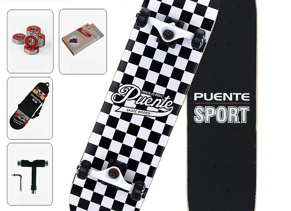 Skateboard Selection Adult Four-Wheel ABEC - 9 Double Snubby Maple