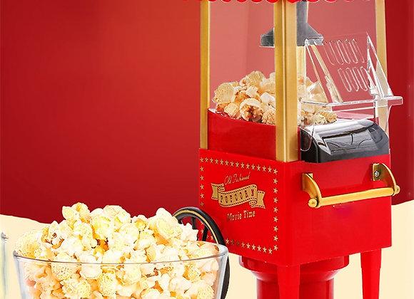 Electric Popcorn Machine Small Mini Automatic Carnival Popcorn