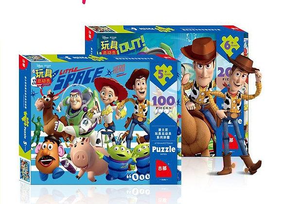 Disney Puzzle Toy Story Puzzle for 100 Pieces 200 Pieces 500 Pieces