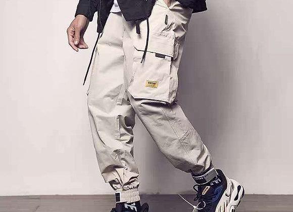 Pockets Cargo Pants Color