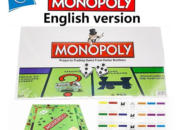 Monopoly English/Russian/Spanish/Arabic/French/ Version