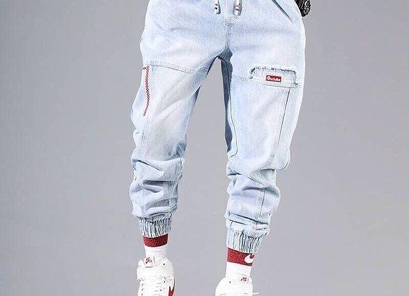 Streetwear Hip Hop Cargo Pants Men's